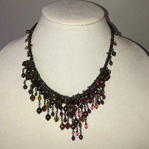 Swarovski Multi-Colored Bead & Crystal Necklace